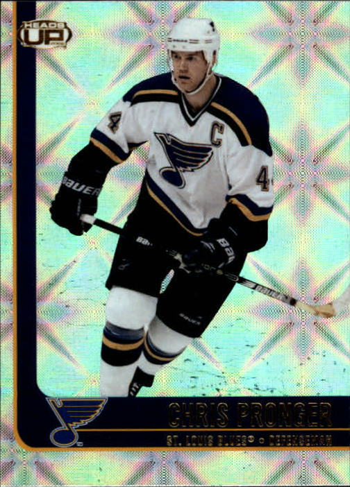 2001-02 Pacific Heads Up #80 Chris Pronger