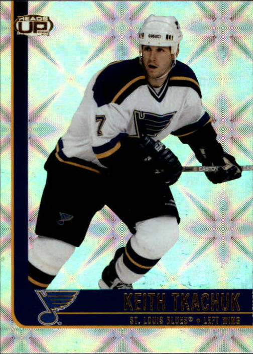 2001-02 Pacific Heads Up #81 Keith Tkachuk