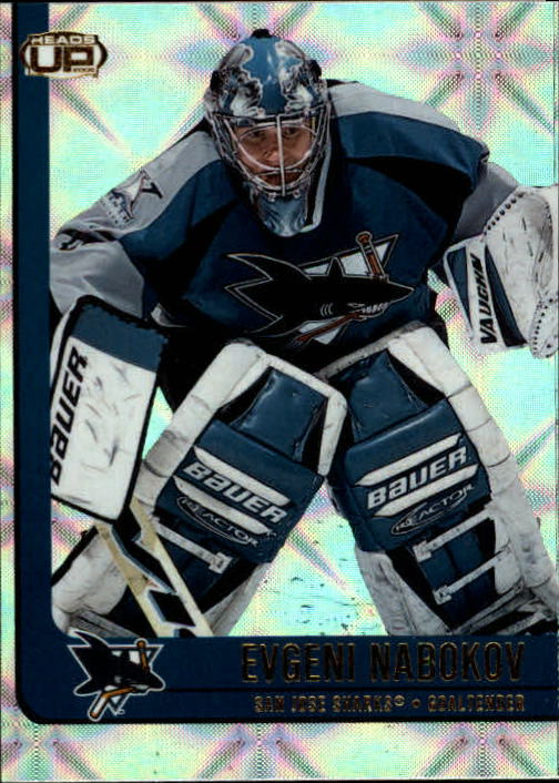 2001-02 Pacific Heads Up #84 Evgeni Nabokov