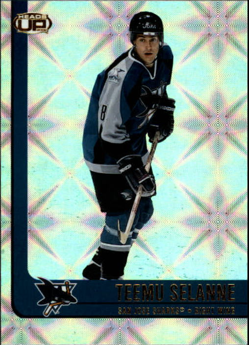 2001-02 Pacific Heads Up #85 Teemu Selanne