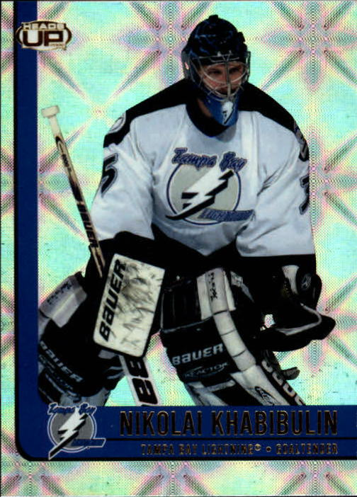 2001-02 Pacific Heads Up #86 Nikolai Khabibulin