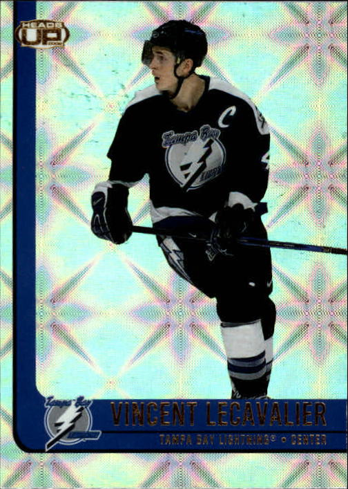2001-02 Pacific Heads Up #87 Vincent Lecavalier