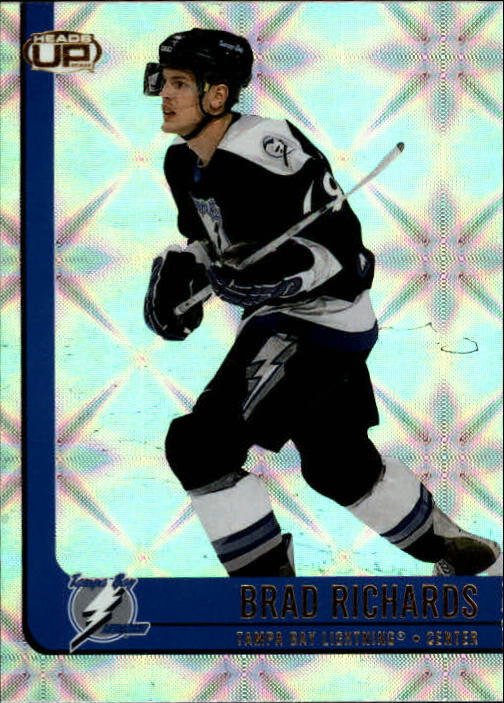 2001-02 Pacific Heads Up #88 Brad Richards
