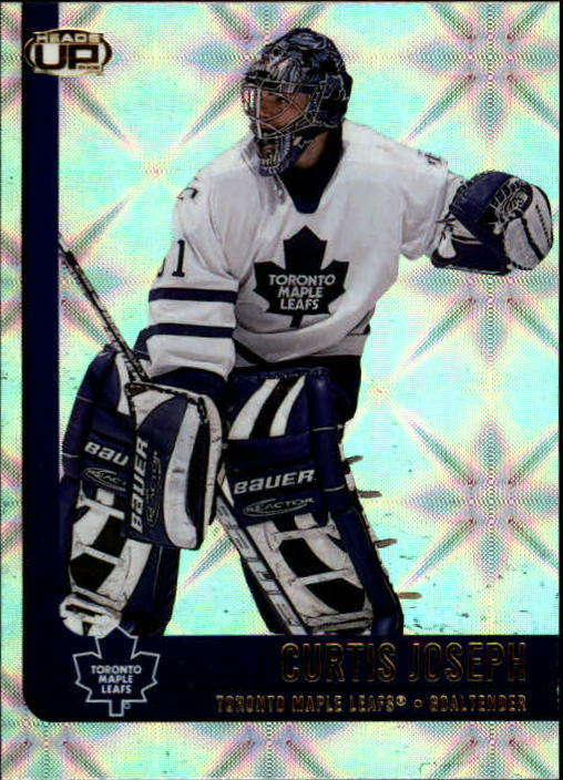 2001-02 Pacific Heads Up #89 Curtis Joseph
