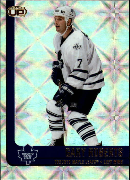 2001-02 Pacific Heads Up #91 Gary Roberts