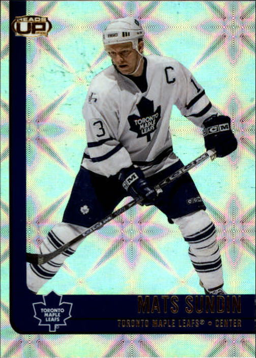 2001-02 Pacific Heads Up #92 Mats Sundin
