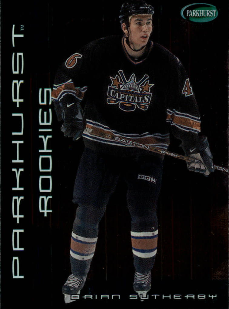 2001-02 Parkhurst #262 Brian Sutherby RC