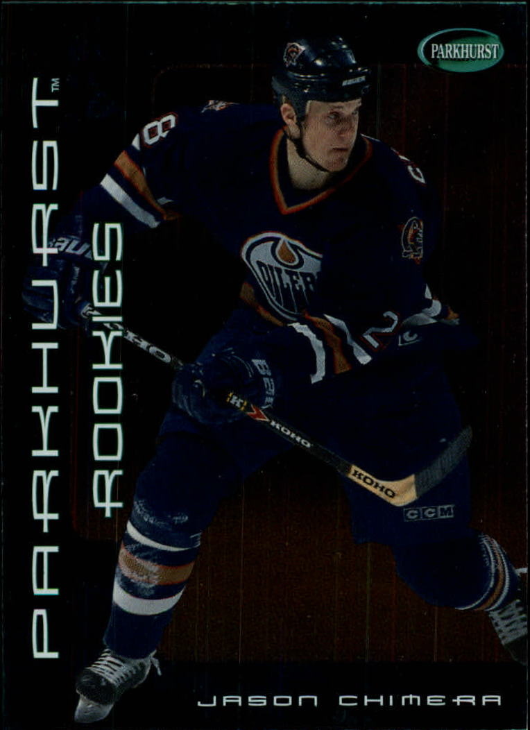 2001-02 Parkhurst #315 Jason Chimera RC