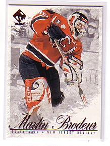 2001-02 Private Stock #55 Martin Brodeur