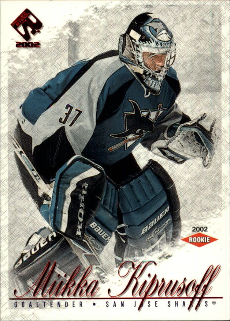 2001-02 Private Stock #109 Miikka Kiprusoff SP