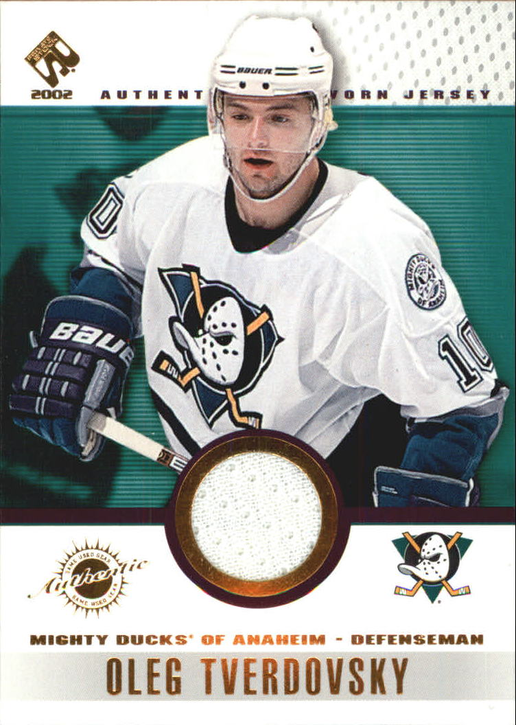 2001-02 Private Stock Game Gear #5 Oleg Tverdovsky