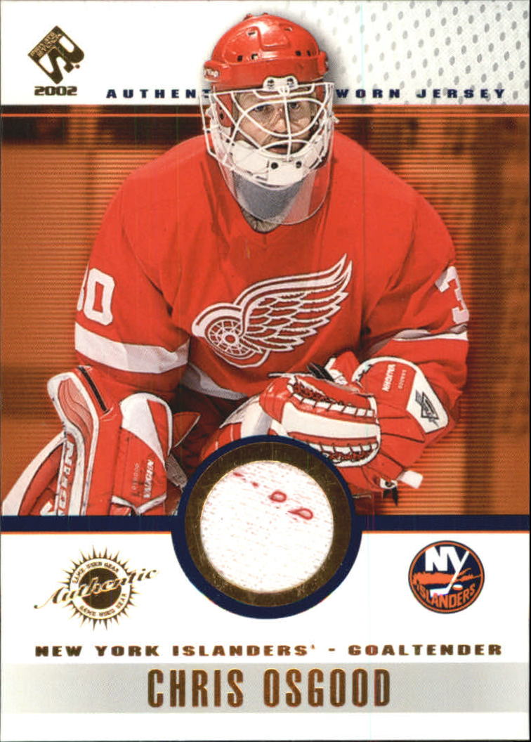 2001-02 Private Stock Game Gear #64 Chris Osgood