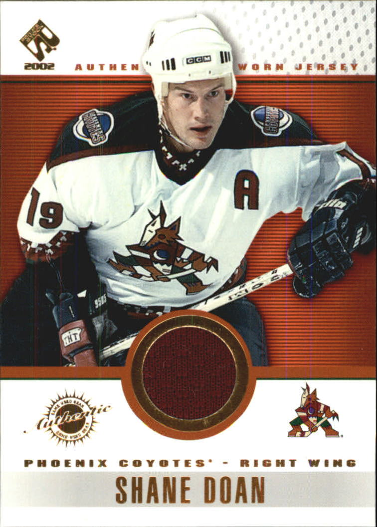 2001-02 Private Stock Game Gear #74 Shane Doan
