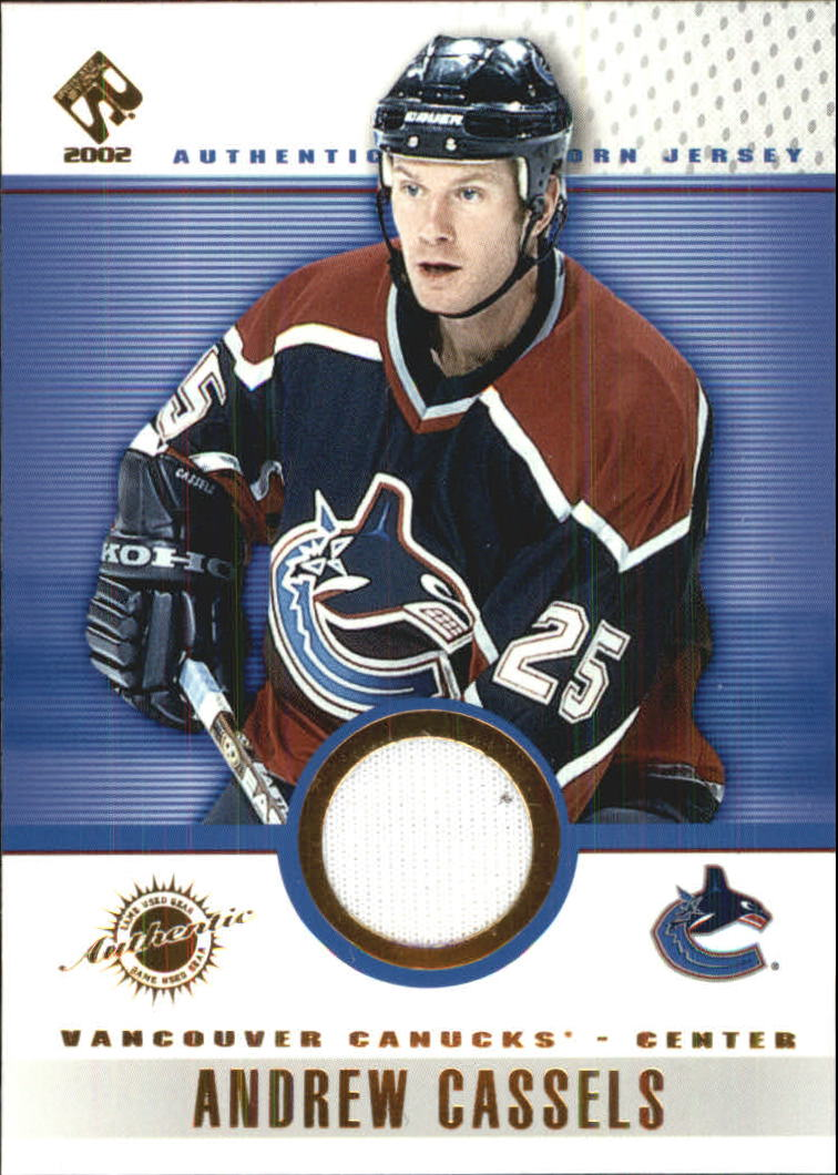 2001-02 Private Stock Game Gear #98 Andrew Cassels