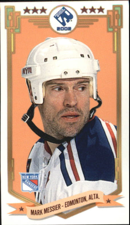 2001-02 Private Stock PS-2002 #49 Mark Messier