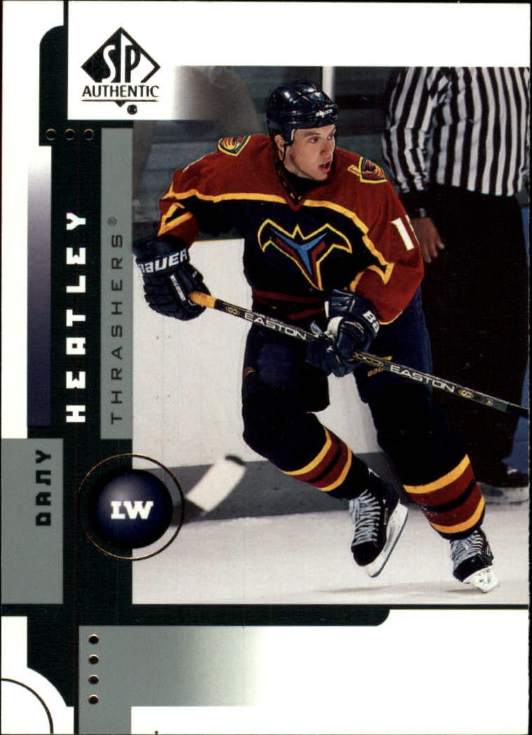2001-02 SP Authentic #3 Dany Heatley