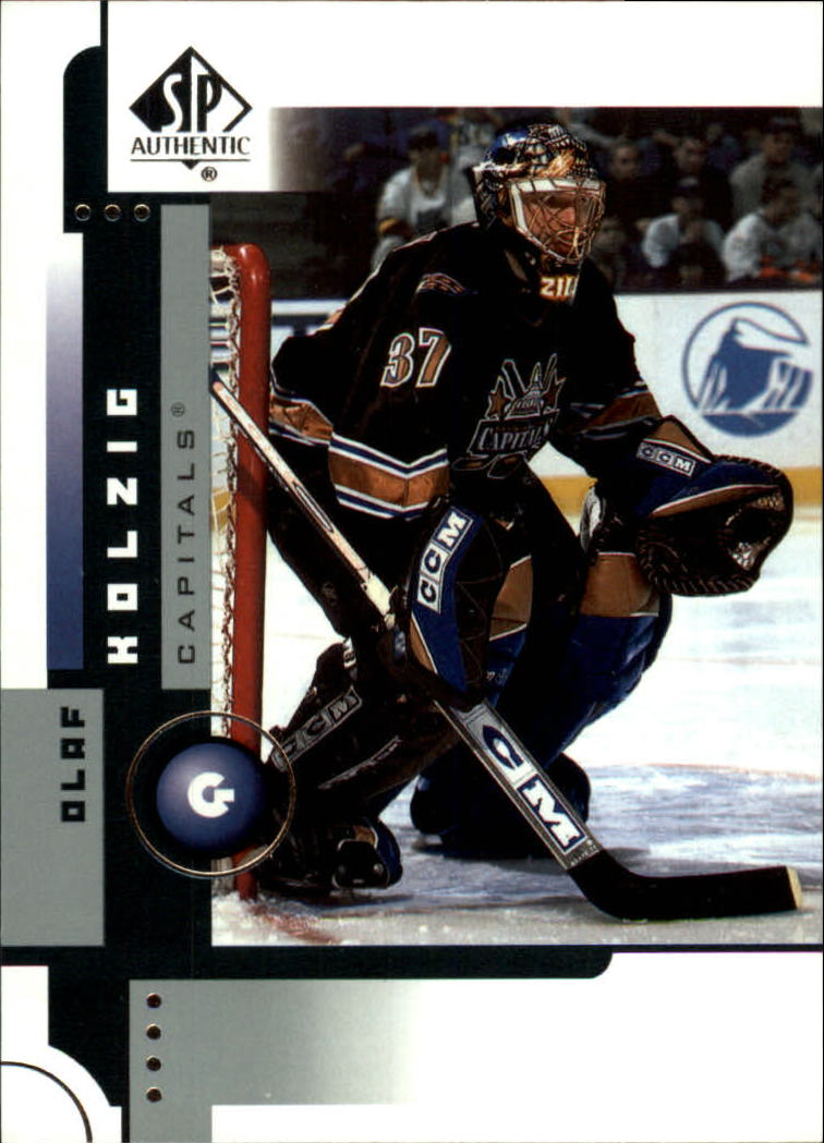 2001-02 SP Authentic #89 Olaf Kolzig