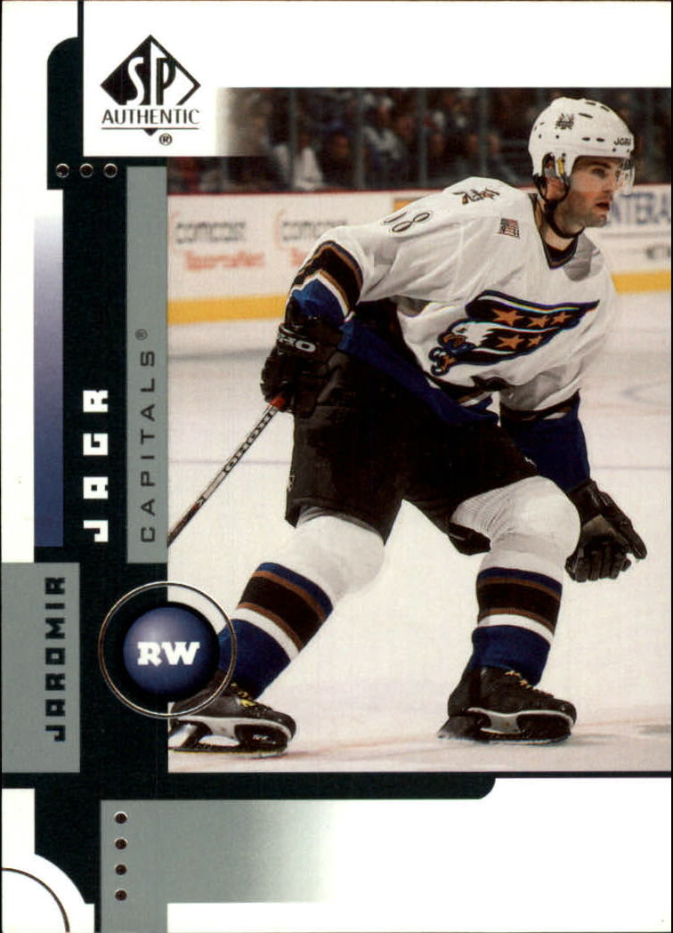 2001-02 SP Authentic #90 Jaromir Jagr