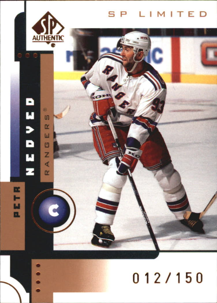 2001-02 SP Authentic Limited #56 Petr Nedved