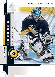 2001-02 SP Authentic Limited #70 Johan Hedberg