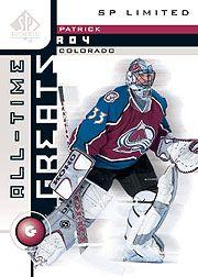2001-02 SP Authentic Limited #93 Patrick Roy