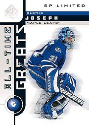 2001-02 SP Authentic Limited #109 Curtis Joseph