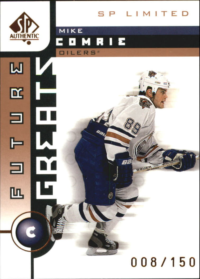 2001-02 SP Authentic Limited #112 Mike Comrie