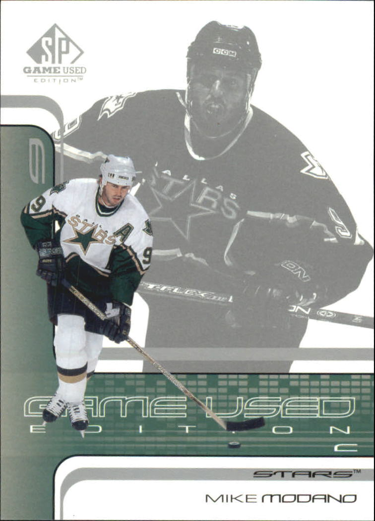2001-02 SP Game Used #14 Mike Modano