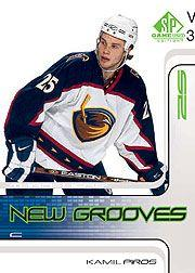 2001-02 SP Game Used #65 Kamil Piros RC