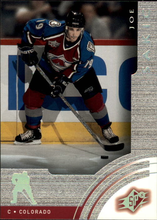 2001-02 SPx #13 Joe Sakic