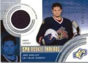 2001-02 SPx #135A Jody Shelley AW/1500 RC
