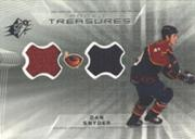 2001-02 SPx Rookie Treasures #RTDS Dan Snyder
