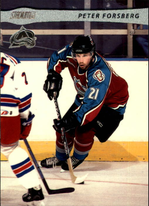 2001-02 Stadium Club #2 Peter Forsberg