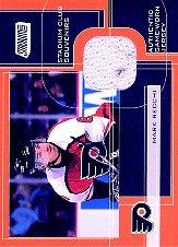 2001-02 Stadium Club Souvenirs #MR Mark Recchi