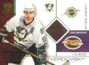 2001-02 Titanium Draft Day Edition #3 Oleg Tverdovsky