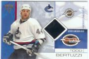 2001-02 Titanium Draft Day Edition #92 Todd Bertuzzi