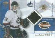 2001-02 Titanium Draft Day Edition #94 Dan Cloutier