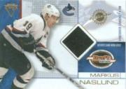 2001-02 Titanium Draft Day Edition #96 Markus Naslund