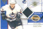 2001-02 Titanium Draft Day Edition #97 Daniel Sedin