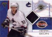 2001-02 Titanium Draft Day Edition #98 Henrik Sedin