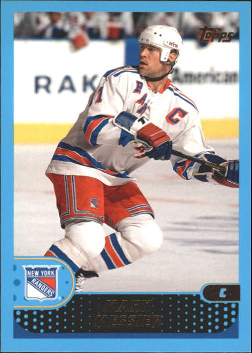 2001-02 Topps #55 Mark Messier front image