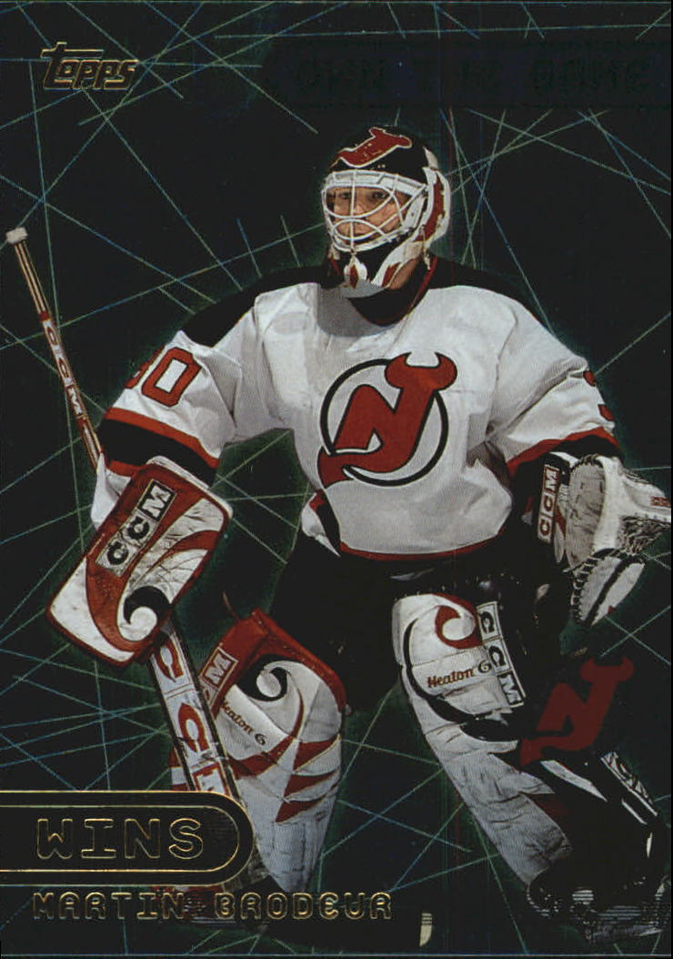 2001-02 Topps Own The Game #OTG21 Martin Brodeur