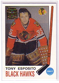 2001-02 Topps Archives #3 Tony Esposito