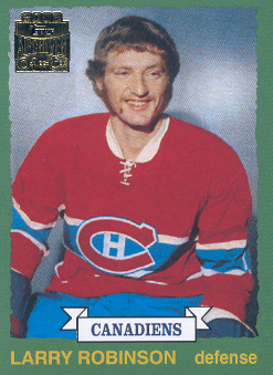 2001-02 Topps Archives #5 Larry Robinson