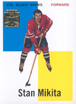 2001-02 Topps Archives #14 Stan Mikita