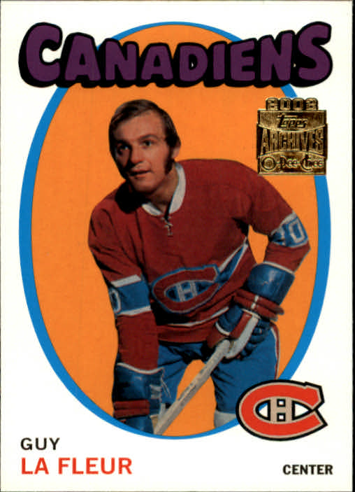 2001-02 Topps Archives #28 Guy Lafleur