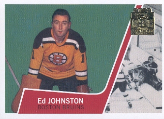 2001-02 Topps Archives #34 Ed Johnston