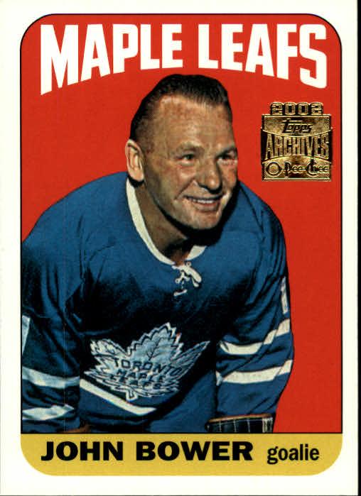 2001-02 Topps Archives #52 Johnny Bower