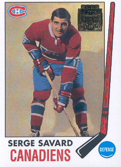 2001-02-CANADIENS-Topps-Archives-53-Serge-Savard