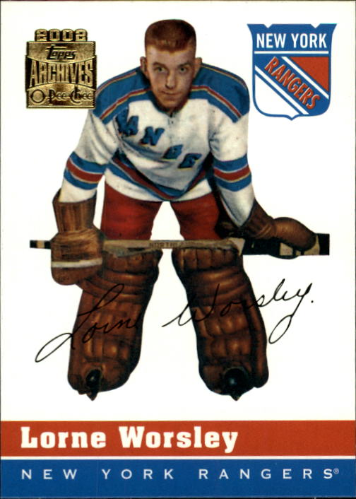 2001-02 Topps Archives #59 Gump Worsley